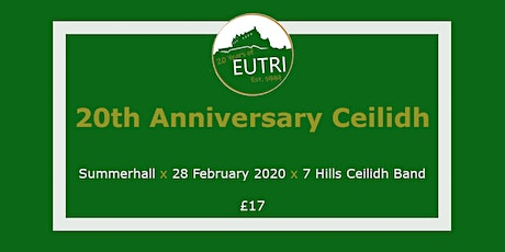 EUTri 20th Anniversary Ceilidh tickets