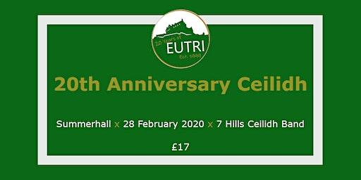 EUTri 20th Anniversary Ceilidh