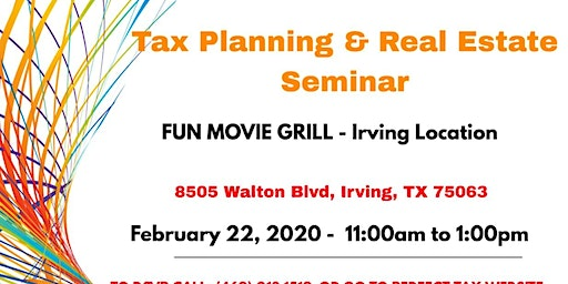 Tax Planning Seminar by Perfect Tax and Finance