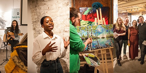Art Auction With Impact
