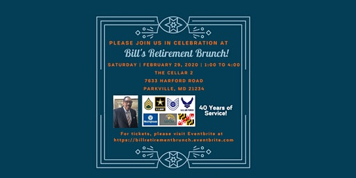 Bill's Retirement Brunch