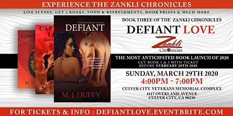 Defiant Love - Book Release Experience! tickets