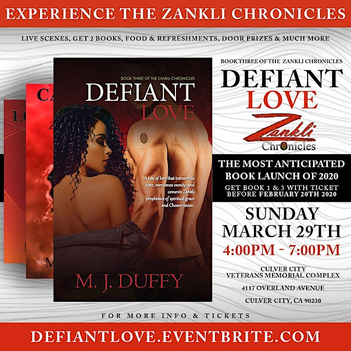 Defiant Love - Book Release Experience! image