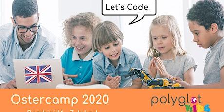 Code+English für Kids Osterferien 2020 (2. Ferienwoche) Tickets