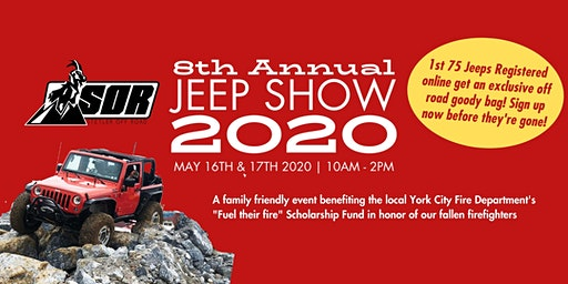 8th Annual Stetler Off Road Jeep Show (Jeep Registration)