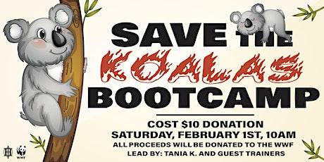 Save The Koalas Bootcamp tickets