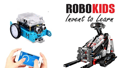 Robokids Spring Camp Week1,Full day/ Half Day STEM Multiple Technologies tickets