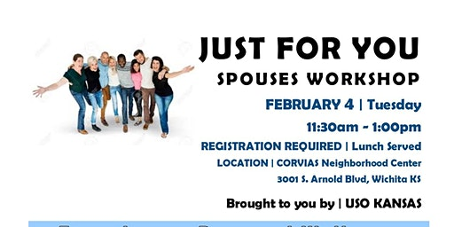 Just For You WHAT'S YOUR WORD? spouse workshop MCCONNELL AFB