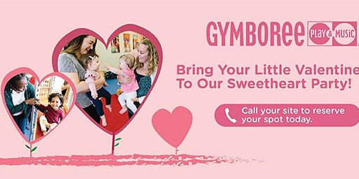 Annual Gymboree Sweetheart Party for Ages 0-5 (Columbia 2020)