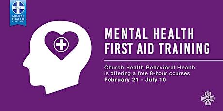 Mental Health First Aid Training: Feb - March tickets