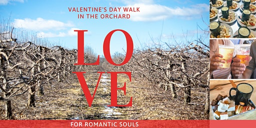 Valentine Orchard Stroll with Cheese Fondue & Craft Beverage Pairing