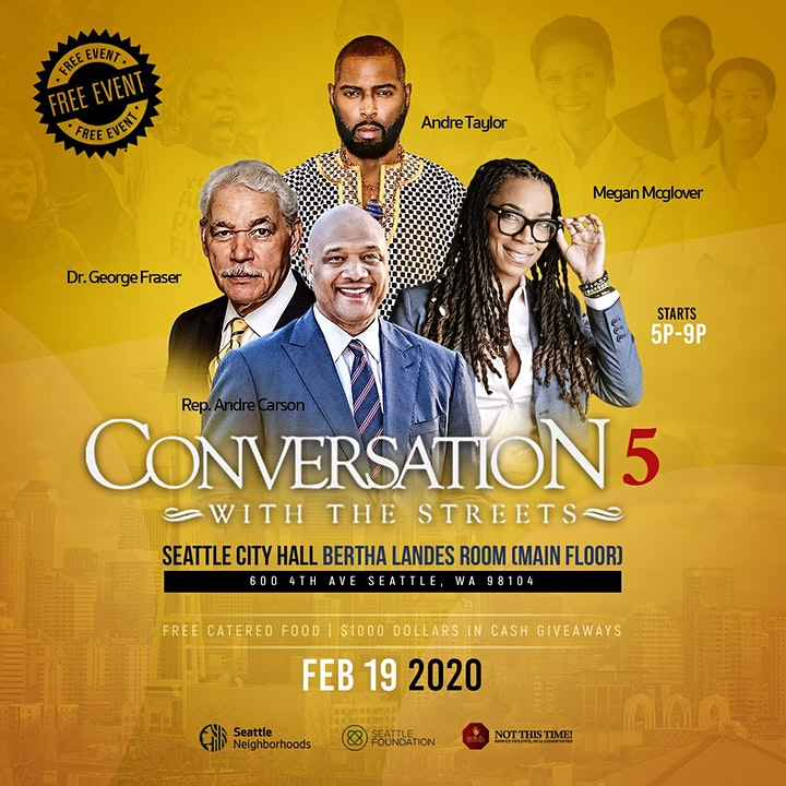 Not This Time Presents Conversation With The Streets 5! Free Event! image
