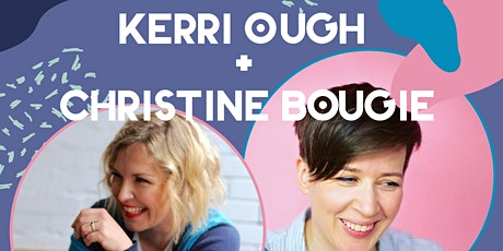 Kerri Ough with Christine Bougie at Ellena's Cafe tickets