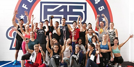 F45 East Chapel Hill is hosting a free boot camp @ Extraordinary Ventures