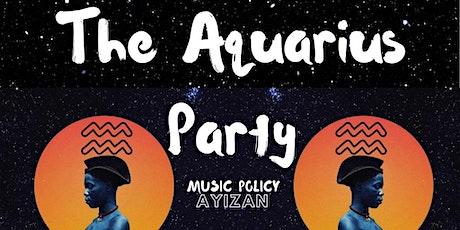 The Aquarius Party tickets