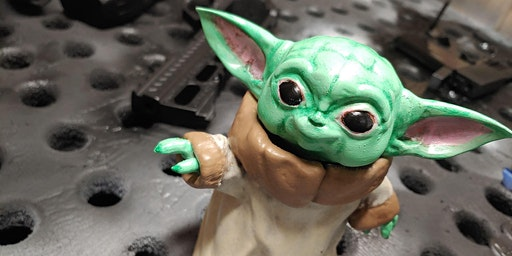 Make & Take - Paint your own Baby Yoda!  - Basics of miniatures painting