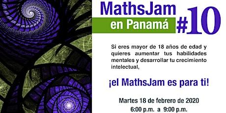 MathsJam #10 en Panamá tickets