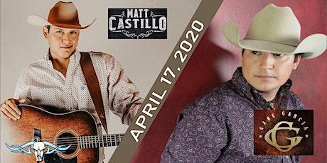 Matt Castillo & Gabe Garcia live at Hillbilly's billets