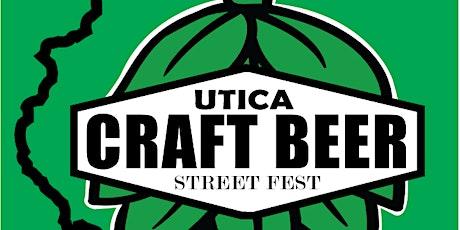 Utica Craft Beer Street Fest tickets