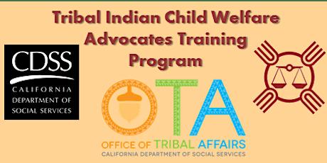 Tribal Indian Child Welfare Advocates Training Program tickets