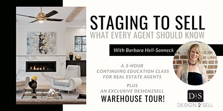 February Real Estate Agent CE Class: Staging to Sell - What Every Agent Needs to Know tickets