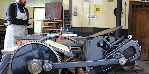 Printing Press Workshop