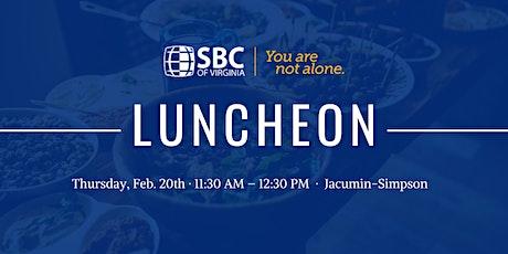 SBC of Virginia Luncheon tickets