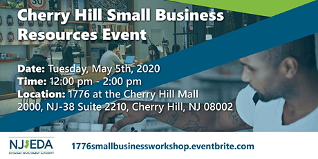 Cherry Hill Small Business Resources Workshop tickets