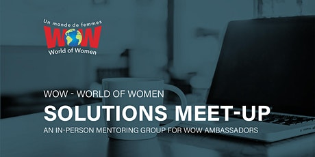 WOW Solutions Meet-Up tickets