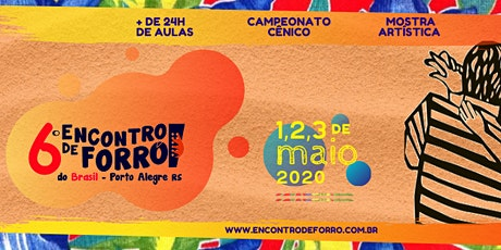 6° Encontro de Forró do Brasil (2020) ingressos