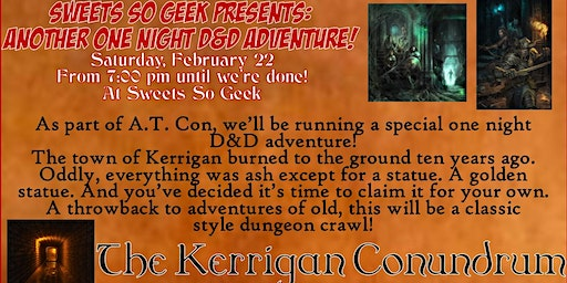 The Kerrigan Conundrum - Another One Night D&D Adventure
