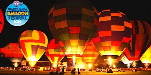 Wairarapa Balloon Festival - Trust House Night Show 2020