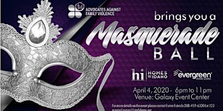 Advocates Against Family Violence Night of Hope Masquerade Ball  tickets