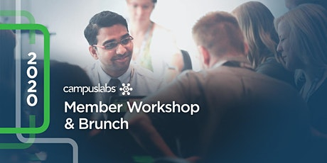 Campus Labs Member Workshop and Brunch tickets