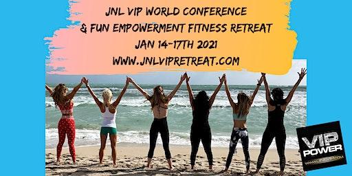 JNL VIP 2021 WORLD CONFERENCE AND FUN FITNESS RETR