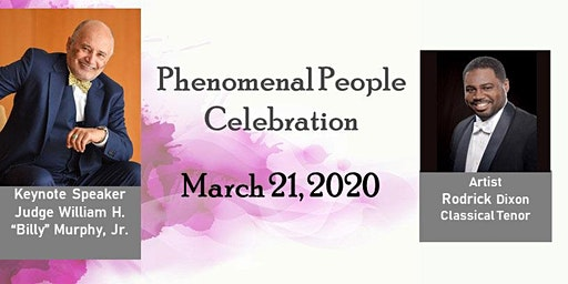 "The Colored School Foundation Presents ""Phenomenal People Celebration"""