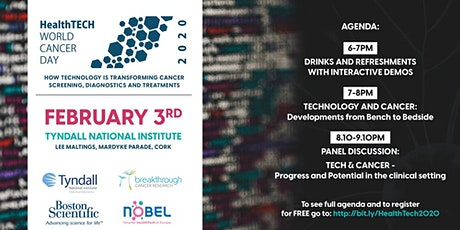 Healthtech World Cancer Day tickets