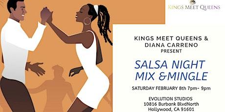Kings Meet Queens Salsa Mix & Mingle tickets