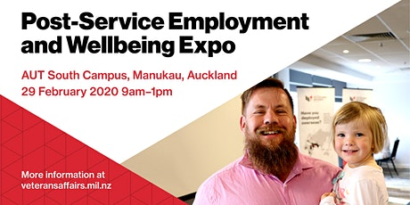 Post-Service Employment and Wellbeing Expo tickets