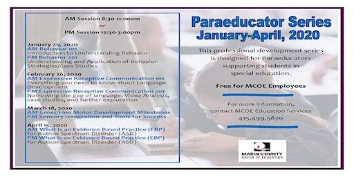 Paraeducator Series -Spring 2020