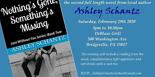 Nothing's Gone, Something's Missing Book Release Party