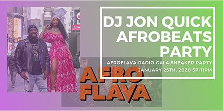 SATURDAY!!! Indoor Roof Top Party for DJ Jon Quick of AfroFlava Radio tickets