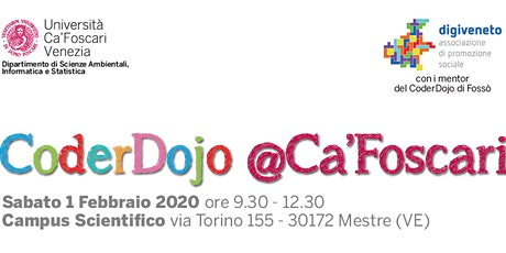 CoderDojo @Ca'Foscari - Mestre, 1 Febbraio 2020 biglietti