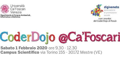 CoderDojo @Ca'Foscari - Mestre, 1 Febbraio 2020