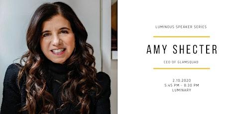 Luminous Speaker Series: Amy Shecter tickets