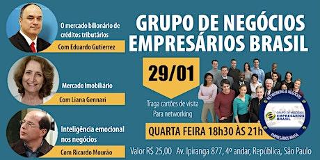 29-01 Reunião do grupo de negócios- Empresários Brasil   ingressos