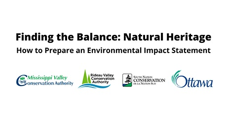 Ottawa Conservation Partners Workshop: Environmental Impact Statements tickets