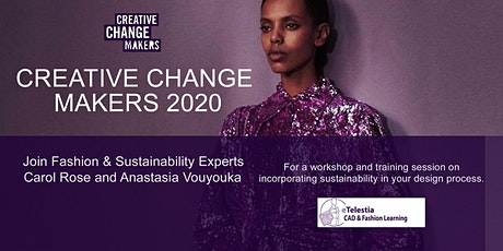 Sustainable Fashion Workshop at Creative Change Makers 2020 tickets