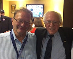 Oxford for Bernie: Larry Sanders and guests campaign to win!