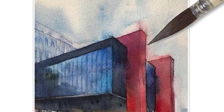 "Workshop de Aquarela para ""Urban Sketching"" Av Paulista ingressos"